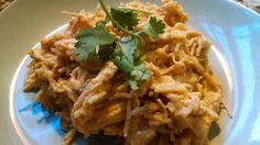21 Day Fix- Crockpot Buffalo Chicken Pasta