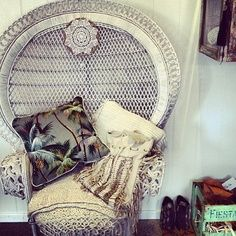 Peacock Chair Inspiration