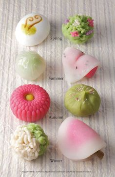 Wagashi | 寿司 | Pinterest
