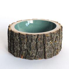 Log Bowl Large Pale Sage