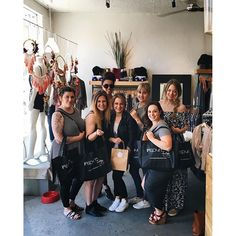 thanks @inspyreboutique for hosting our dnvr team shopping party today! #aandbabes