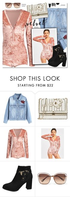 """Crushing on Velvet"" by oshint ❤ liked on Polyvore featuring Chloé and Bobbi Brown Cosmetics"