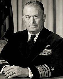 Vice Admiral William Francis Raborn, Jr., United States Navy (June 8, 1905 - March 6, 1990) was a United States Navy officer, the leader of the project to develop the Polaris missile system, and the 7th Director of Central Intelligence as well as the 5th Director of the Central Intelligence Agency.