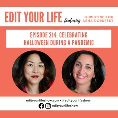 Edit Your Life podcast episode on celebrating Halloween and maintaining touchpoints with holiday normalcy in a safe, simple way. Minimalist Parenting, Leadership Conference, Happy Mom, Citizenship, Your Life, Have Time, Parenting Hacks, Grief, Self Care