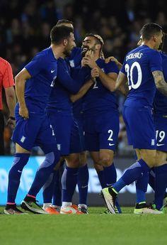 Australia v Greece Melbourne, Greece, Soccer, Australia, Football, Running, Sports, People, Greece Country