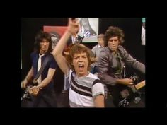 The Rolling Stones - Hang Fire - Official Promo - I'm not sure about Mick Jagger's outfit here, but hey, these guys are da best!