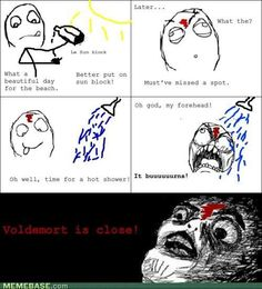 ahh it burns!!