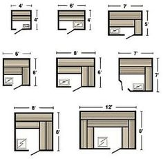 Sauna plans, kits, controls and accressories. Build your own home sauna