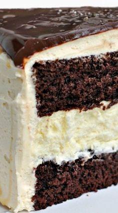 Salted Caramel Chocolate Cheesecake Cake