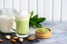 Whether you're not a fan of java or you're trying to cut down your coffee habit, these energy-boosting drinks make for the perfect coffee alternative. via @Livestrong @LaurenPincusRD quoted Sweet Potato Smoothie, Green Tea Smoothie, Tea Smoothies, Oatmeal Smoothies, Juice Smoothie, Fruit Juice, Shake Recipes, Smoothie Recipes, Drink Recipes