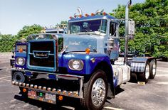 Brockway sits at the national ATHS truck show in York, PA Old Pickup Trucks, Mack Trucks, Big Rig Trucks, Dump Trucks, Fire Trucks, Antique Trucks, Vintage Trucks, Classic Tractor, Classic Trucks