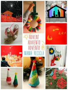 Christmas crafts - mama recicla