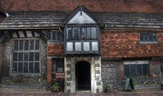Anne of Cleves House, East Sussex, England. She never lived her, but it was one of many properties she owned after her annulment. I would love to sit down to dinner with her and hear her story...