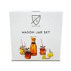 Mason Jar Set by JD