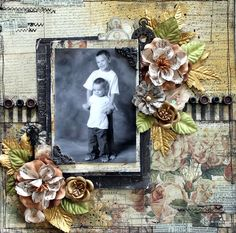 Vintage Style Layout on Live with Prima