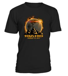 "# Idaho Total Solar Eclipse 2017 T-Shirt .    The solar eclipse of 2017 is happening in America. Get this beautiful graphic tshirt showing ths moon covering the sun, with ""Eclipse 2017"" overlayed. This is the ideal gift for astronomers or any one who is going to see the totality of the solar eclipse. The path of the total solar eclipse crosses the United States of America on 21 August 2017, make sure you grab this tee to celebrate this magnificent event. Be the envy of your friends with this…"