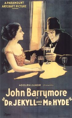 Dr. Jekyll and Mr. Hyde (1920) - Available for viewing on my YouTube Channel KICK IT STINKY!