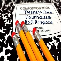This Omega English product contains 25 Journalism Bell Ringers to help students think critically about various concepts and real world examples.  It is versatile product that can be used as a bell ringer activity, homework, group work, early finishers, etc.