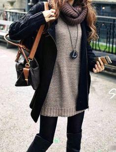 Suéter, bufanda, abrigo y botas, ¿ya preparaste tus elementos otoño-invierno?