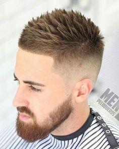 Spiky Fade Haarschnitt