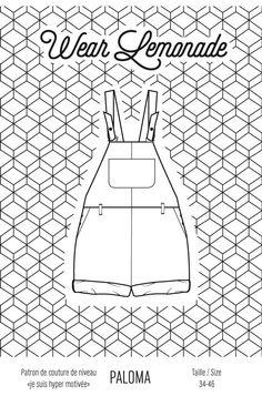 Patron de couture Paloma - PDF  http://www.wearlemonade.com/fr/patrons/58-patron-de-couture-paloma-pdf.html