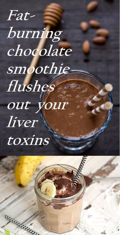 The fat-smoldering chocolate smoothie that helps your liver flush out toxins   Cheap Advices