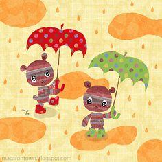 love the rainy day !
