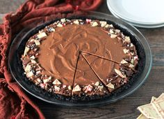 The Crust On This Chocolate Peppermint Pie Is Too Good to Pass Up  - Delish.com