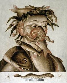 An Allegory of Water, undated Artist: Giuseppe Arcimboldo (1527-1593) Location: Private Collection