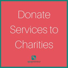This is the BEST way to grow your business - take time to give to others. Donate gift certificates or spend an afternoon doing chair massages. #100 #spa #businessadvice #spaadvice #spalife #guide #spatips #tips #ebook #massage #skincare #nails #nailcare #dayspa #spaprofessional #businesstips #biztips #biztip #entrepreneur #entrepreneurial #businessowner #advice #tip #advicequotes #sales #branding #smallbiz #success #brandstandards #environment