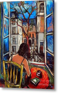 Woman at Window Painting by Mona Edulescu Art Graphique, Bedroom Art, Anime Comics, Figurative Art, Love Art, Oeuvre D'art, Fine Art Photography, Painting & Drawing, Pastel Drawing