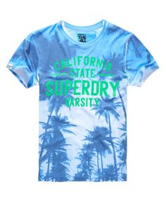 Superdry Camiseta con estampado fotográfico Santa Monica