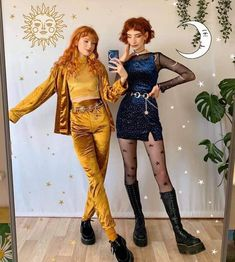 Cute Fashion, Look Fashion, Fashion Outfits, Fashion Design, Retro Outfits, Cute Casual Outfits, Grunge Outfits, Barett Outfit, Business Mode