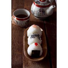 Onigiri ❤ liked on Polyvore featuring food