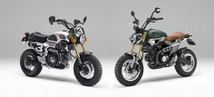 Honda Grom Scramblers are the retro minicycles of your dreams.