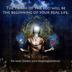MAXMILLIAN THE SECOND: The death of the ego....