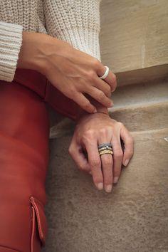 Home   LES FACTORY FEMMES Schmuck Design, Stacking Rings, Delicate, Bling, Jewelry, Fascinators, Rhinestones, Jewel, Jewlery
