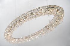 Looop by Manooi #crystalchandelier #lightingdesign #interior #chandelier #coollamps #luxury #Manooi