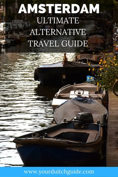 Explore Amsterdam and plan your perfect trip using this Alternative guide to Amsterdam. See both famous and unknown sights in Amsterdam, The Netherlands Amsterdam Guide, Tourist Trap, Top Place, Netherlands, Travel Guide, Travel Inspiration, Dutch, Places To Visit, Alternative