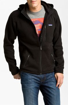 Patagonia 'Better Sweater' Zip Fleece Hoodie available at #Nordstrom