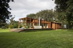 """""""Great Barrier House""""  (Great Barrier Island, New Zealand) by Crosson Clarke Carnachan Architects."""