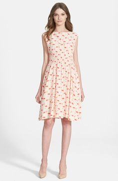 kate spade new york 'flamingo blaire' dress available at #Nordstrom