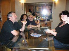 2010 - Andy, Jo & Dave Key and Mary Watson celebrating