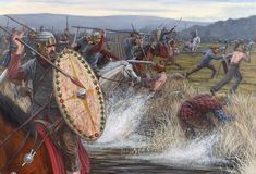 Battle of Mons Graupius was a Roman military victory over Caledonian Confederacy in North-east Scotland, taking place in AD 83 (84).