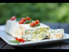 Terrine de courgettes, fromage de chèvre et menthe