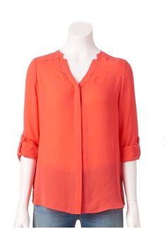 Apt.9 Women Long Sleeve Button Down Chiffon Top Dress Shirt Blouse Petite S NWT    eBay