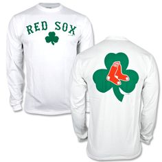 Red Sox St. Pat's Long Sleeve - White