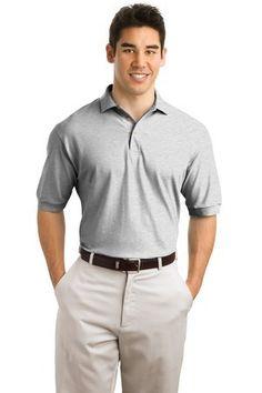 Hanes Men's 7 oz STEDMAN Cotton Pique Polo #055X