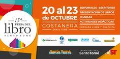 20 al 23 Octubre Santo Tomé - 15° Feria del Libro | Region Litoral