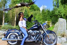 Harley Davidson an eagle spirit by Welbis Pestana on Eagles, Badass, Harley Davidson, Wildlife, Spirit, Birds, Eagle, The Eagles, Bird